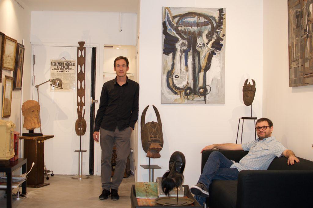 Guenael Fassier et Olivier Langevin