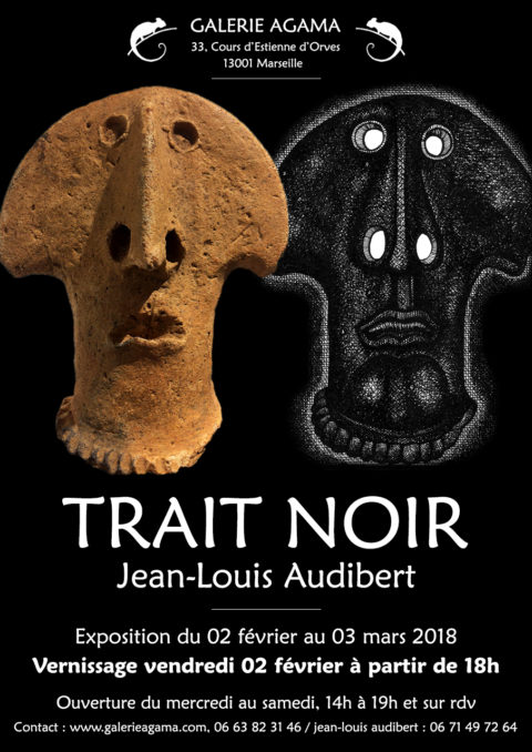 Exposition Trait Noir – Jean Louis Audibert